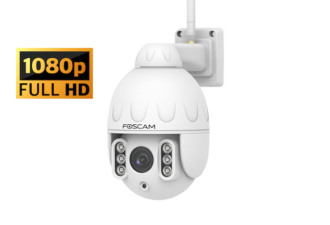 FOSCAM SD2 FULL HD БЕЗЖИЧНА  PAN/TILT/ZOOM IP КАМЕРА